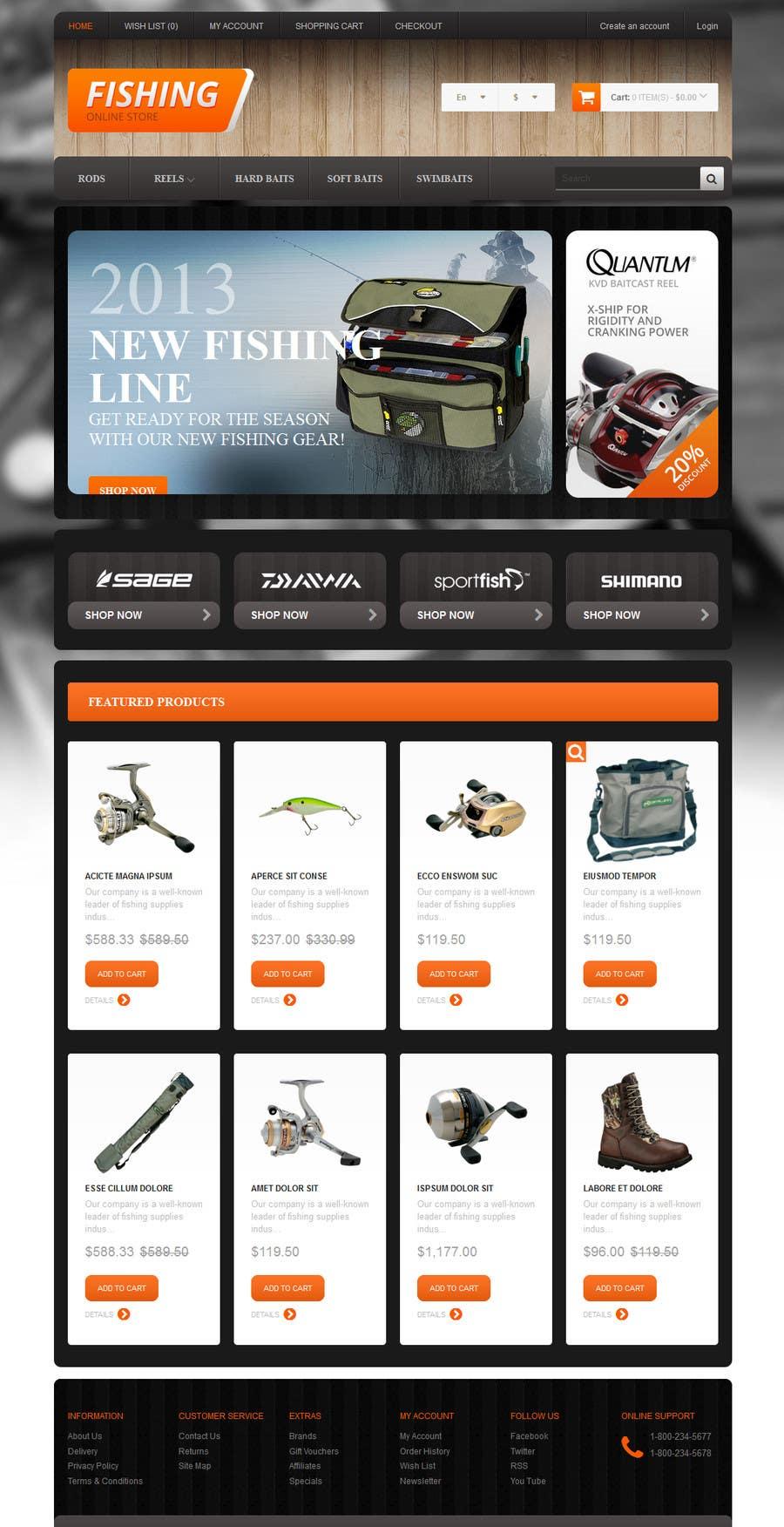 Inscrição nº 2 do Concurso para Build an Online Store for Spare Parts used in agriculture
