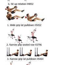 Nro 1 kilpailuun Alter some Images for an exercise program käyttäjältä Viklasa