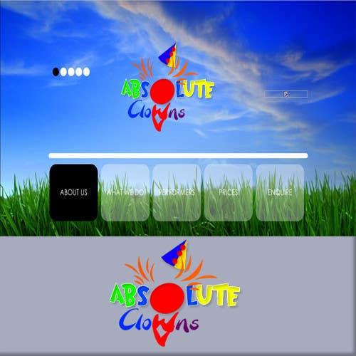 Penyertaan Peraduan #                                        117                                      untuk                                         Graphic Design for Absolute Clowns (Australian based company located in Sydney, NSW)