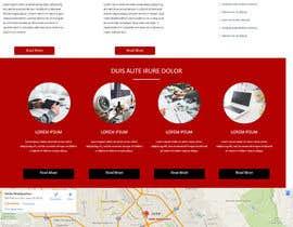 Nro 6 kilpailuun Design a Website Mockup käyttäjältä alizaever