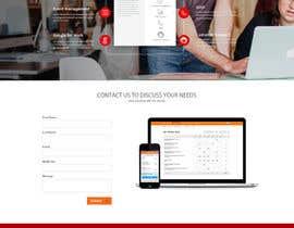 Nro 14 kilpailuun Design a Website Mockup käyttäjältä Ganeshdas