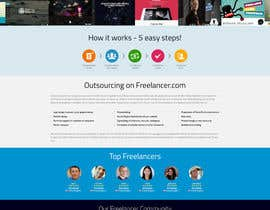 #33 para Design a new default page for Freelancer por snali