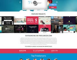 #34 para Design a new default page for Freelancer por snali