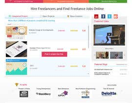 #70 for Design a new default page for Freelancer af gaf001
