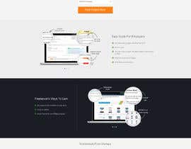 #47 para Design a new default page for Freelancer por edbryan