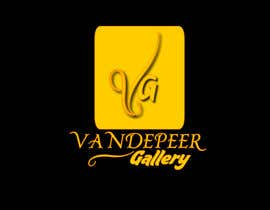 #12 para Design a Logo for Vandepeer Gallery por alek2011