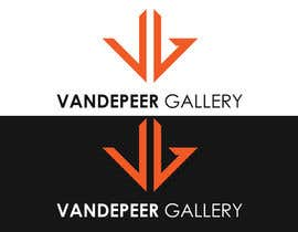 yogeshbadgire tarafından Design a Logo for Vandepeer Gallery için no 11
