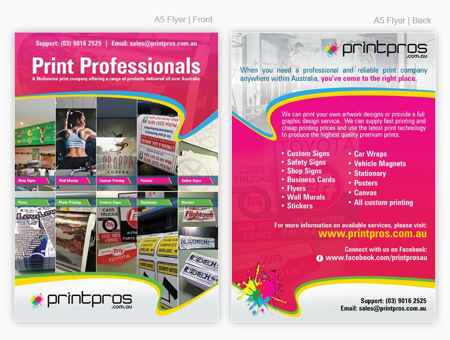 #25 for Design a Flyer for marketing by pris