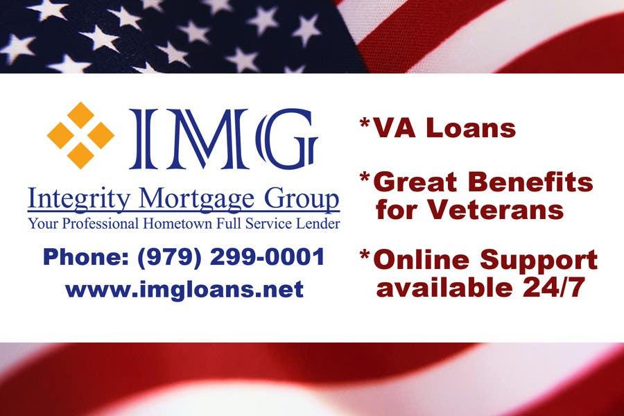 Inscrição nº 6 do Concurso para Design an Advertisement for a mortgage company.