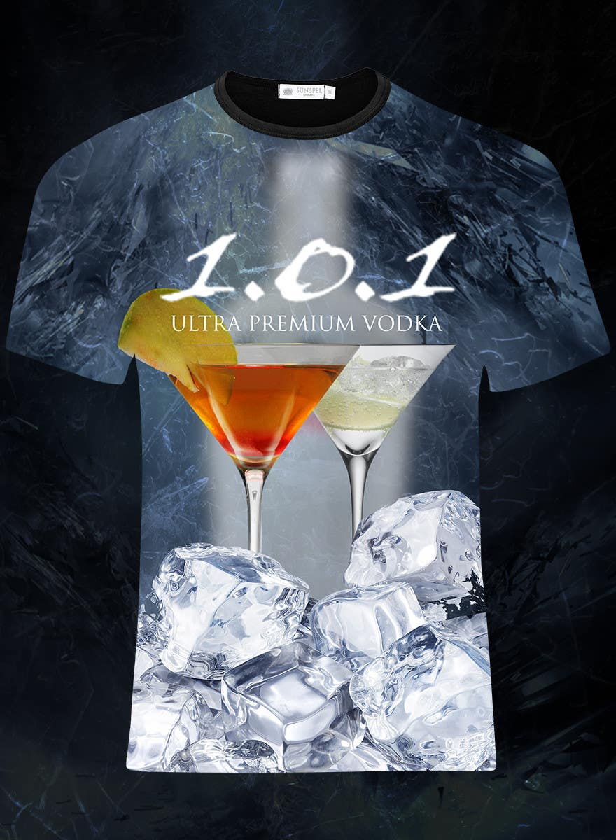 #46 for Design a T-Shirt for 1.0.1 Vodka by IIDoberManII