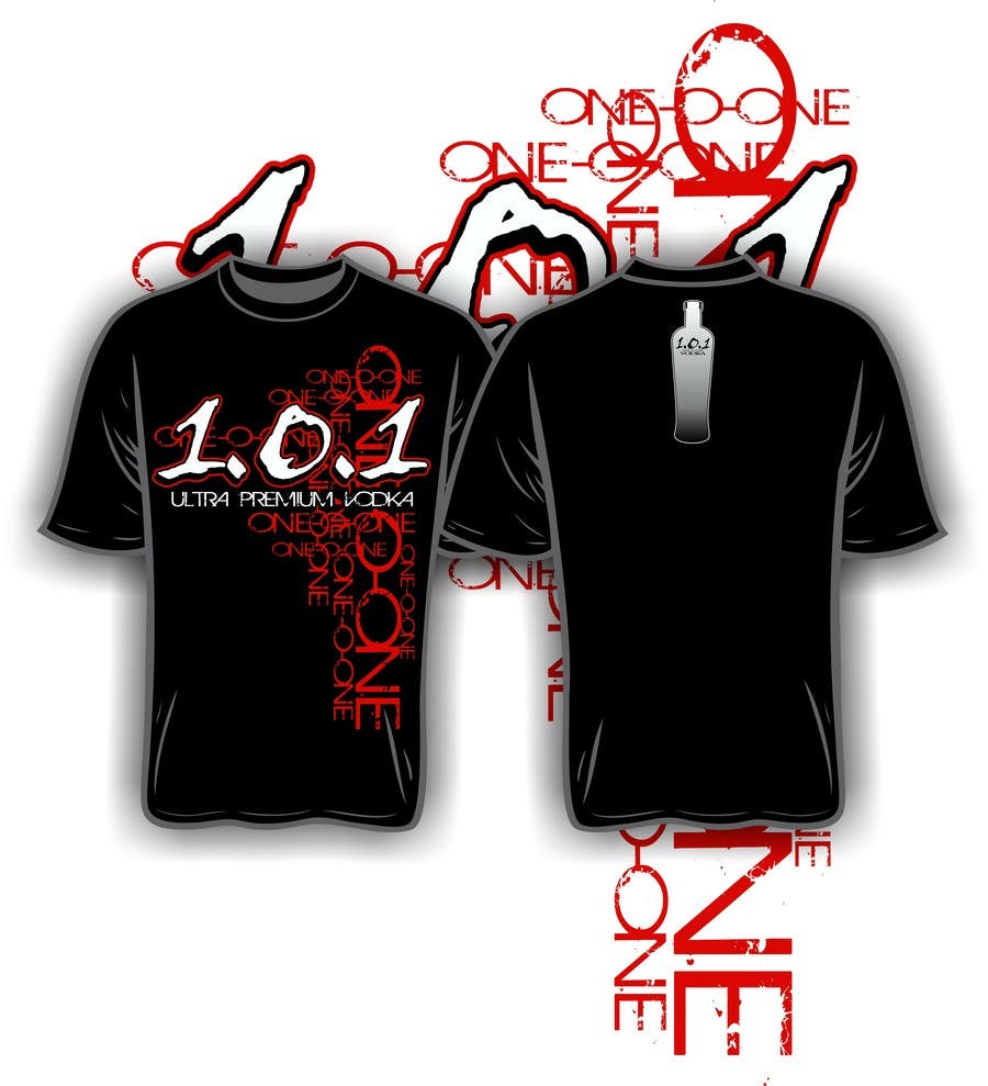 #31 for Design a T-Shirt for 1.0.1 Vodka by iYNKBRANE