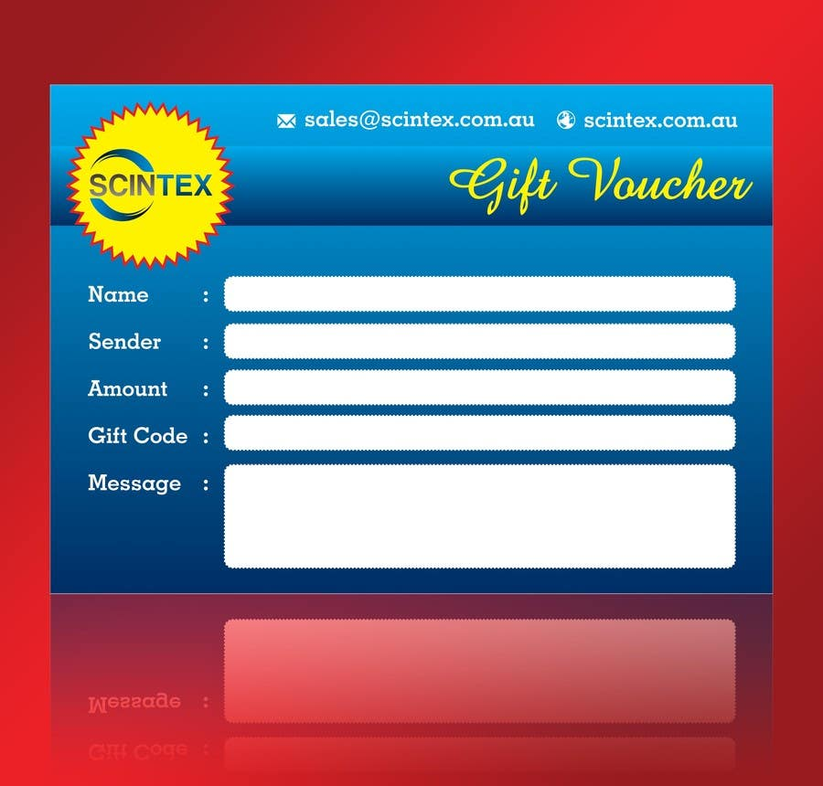 #24 for Design a Gift Voucher by linokvarghese