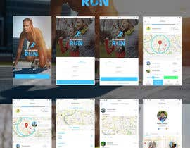 adarshkjames tarafından Design an App Mockup, for a running app, HK landmark run için no 13