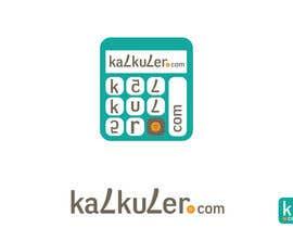 Cozmonator tarafından Design a logo for kalkuler.com için no 37