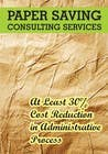 Contest Entry #4 for Ad to attract customer to get Paper Saving Consulting Services