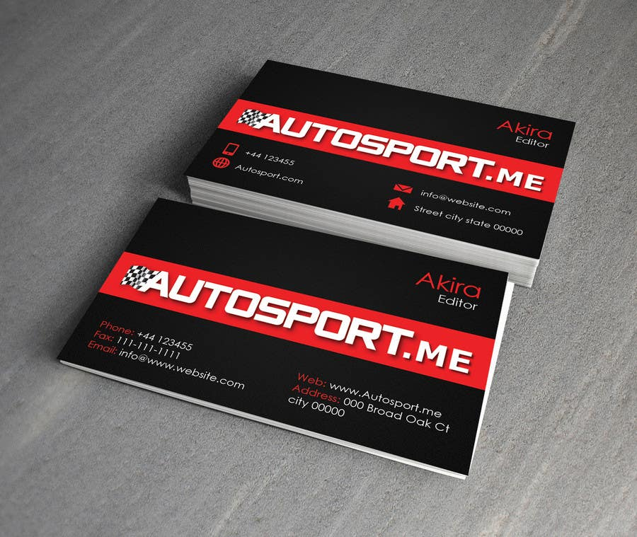 Contest Entry #6 for Design some Business Cards for small website