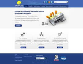 #7 cho Design a Website Mockup (main page / one subpage) bởi tania06