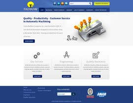 nº 32 pour Design a Website Mockup (main page / one subpage) par tania06