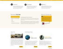 #13 cho Design a Website Mockup (main page / one subpage) bởi zumanur