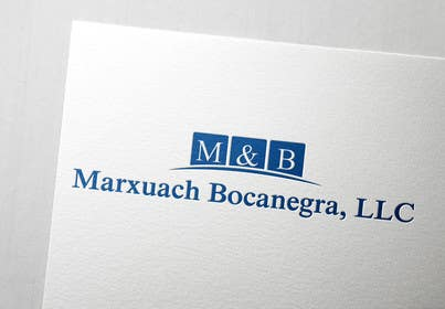 #45 for Design a Logo for Marxuach Bocanegra, LLC af SergiuDorin