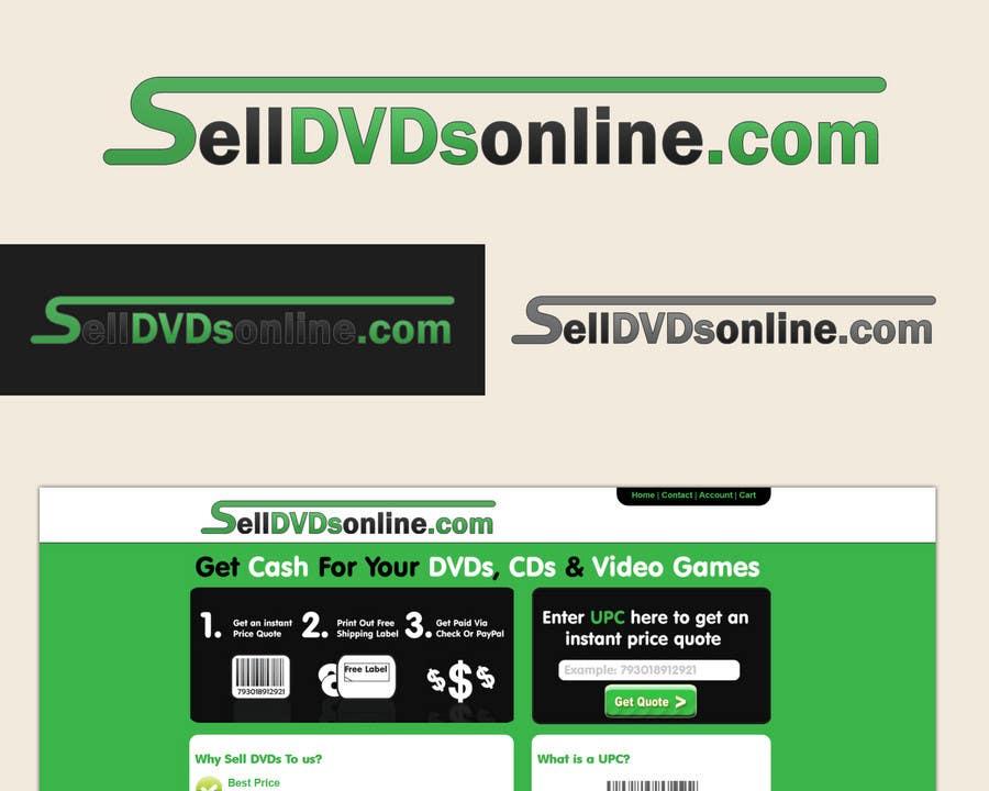 Конкурсная заявка №481 для Logo Design for selldvdsonline.com