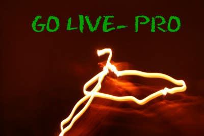 Kilpailutyö #251 kilpailussa Design a Logo for Go-Live Pro