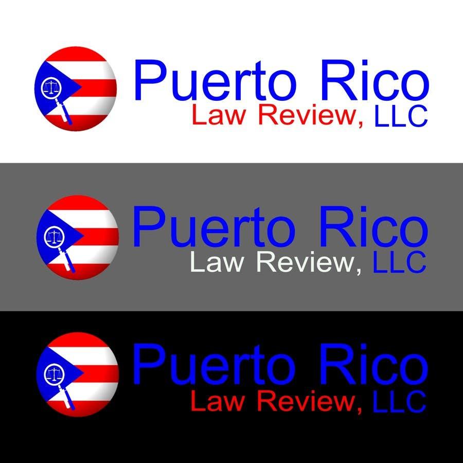 Penyertaan Peraduan #41 untuk Design a Logo for Puerto Rico Law Review, LLC