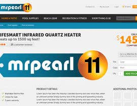 #222 para Logo Design for mrpearl11 por smarttaste