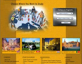 aaronn99 tarafından Create a website for a student orientation company / 51europe.org için no 14