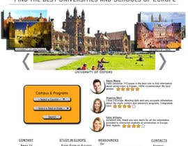 aaronn99 tarafından Create a website for a student orientation company / 51europe.org için no 20