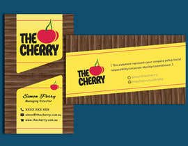 #60 for Design some Business Cards for The Cherry by CabbNetic