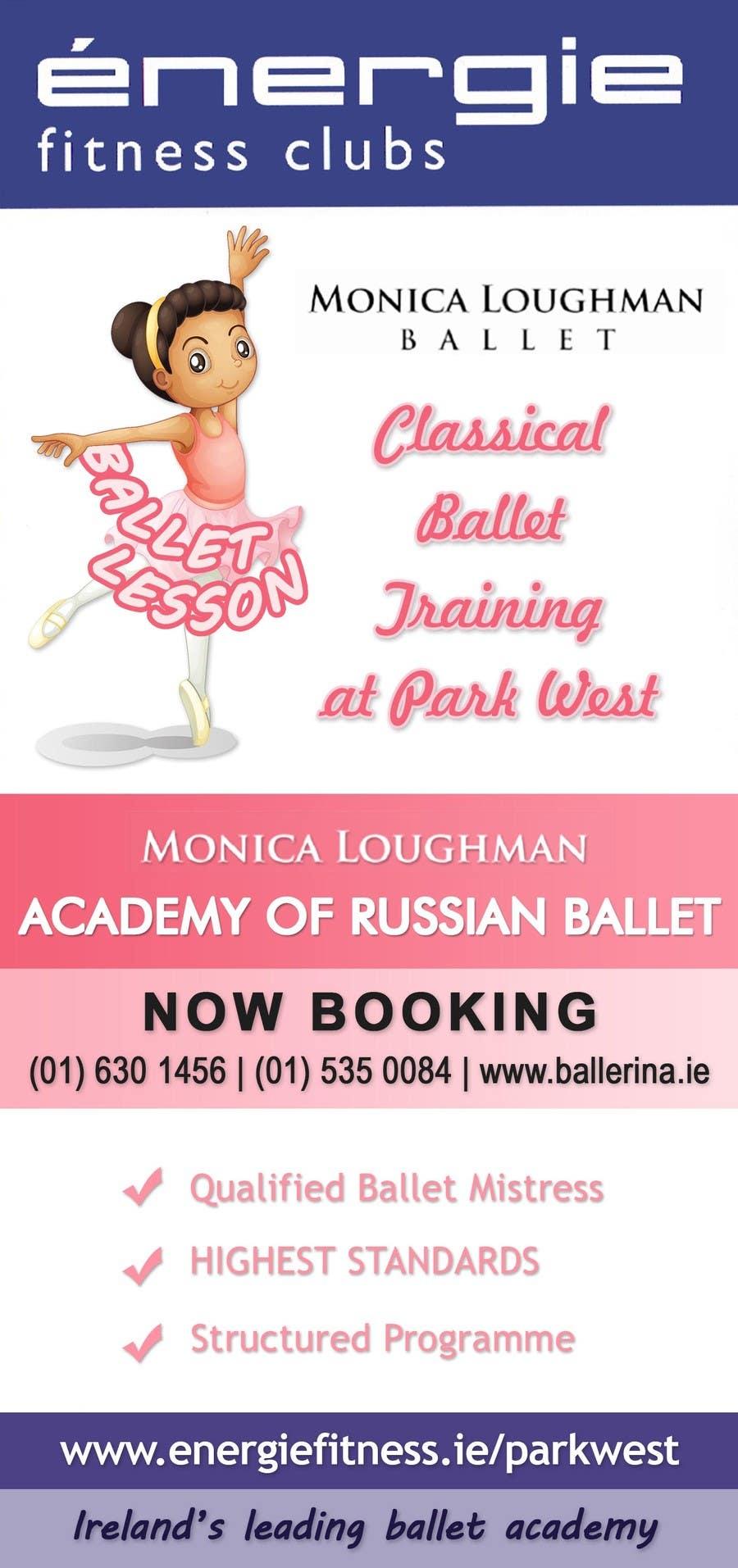#9 for Design flyer for ballet school by stniavla