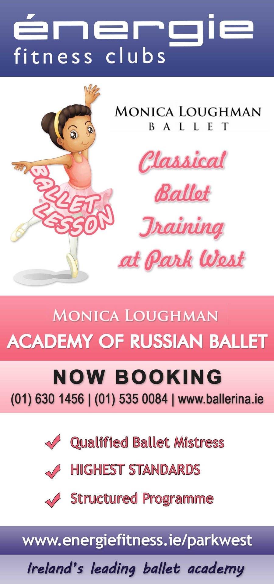 #12 for Design flyer for ballet school by stniavla