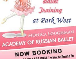 nº 30 pour Design flyer for ballet school par stniavla