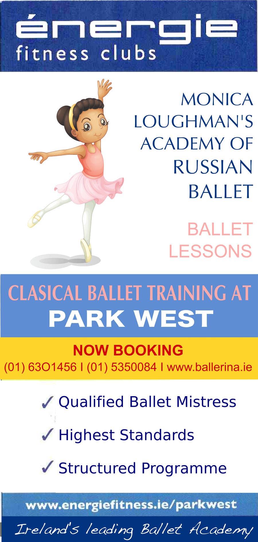 #16 for Design flyer for ballet school by eloren