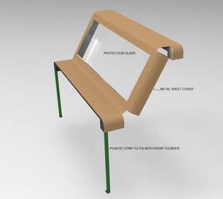 kctcmadanpur tarafından Design a Product/Solution for Protecting Car Windshields from Hail için no 4