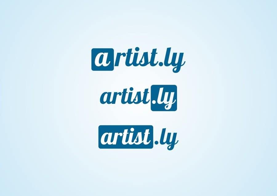 Penyertaan Peraduan #124 untuk Logo for Artist.ly
