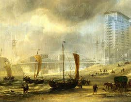 #42 untuk Fun Project - Photoshop new buildings into an old painting oleh shariamor24