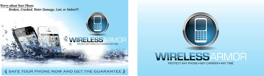 #2 for Design a Flyer for Wireless Armor by luthfialanshar