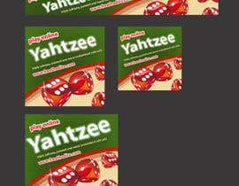 jassna tarafından Design a banner and other ad images for yahtzee website için no 15