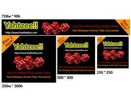 rashmarahman tarafından Design a banner and other ad images for yahtzee website için no 23