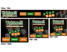rashmarahman tarafından Design a banner and other ad images for yahtzee website için no 25