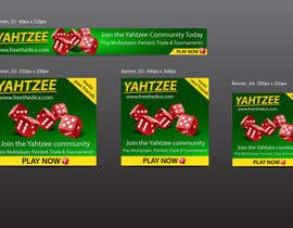 ryanafrica tarafından Design a banner and other ad images for yahtzee website için no 16