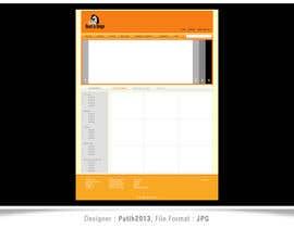 Nro 1 kilpailuun Draw a quick JPEG/TIFF Mockup of a website käyttäjältä putih2013