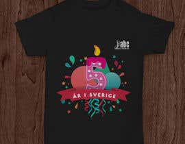 mkh55ec44a92789b tarafından Design a T-shirt for our 5 year old company için no 23