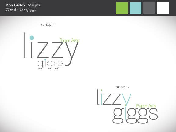Proposition n°15 du concours lizzy giggs Paper Arts