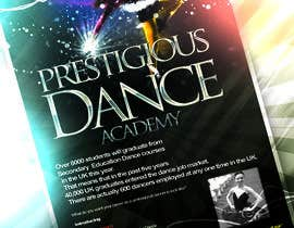 #18 para Design a Flyer for a prestigious dance academy por narina2014