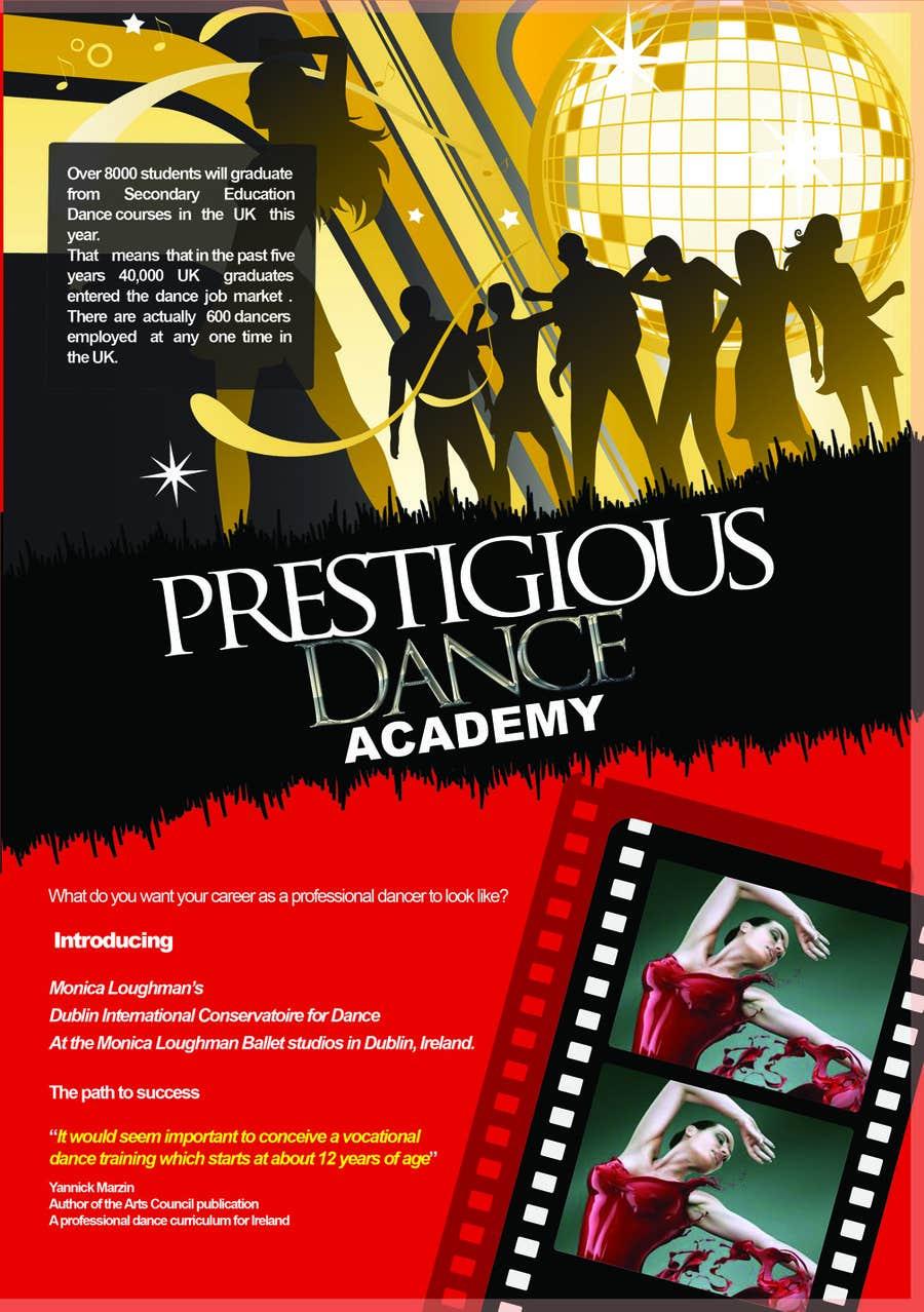 Inscrição nº 45 do Concurso para Design a Flyer for a prestigious dance academy