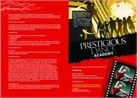 Graphic Design des proposition du concours n°46 pour Design a Flyer for a prestigious dance academy