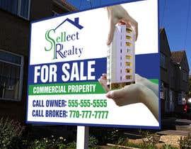 teAmGrafic tarafından real estate sign için no 5